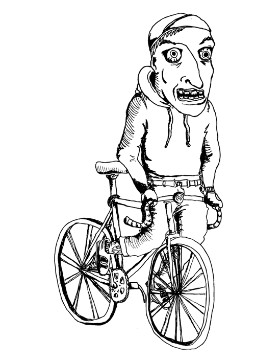 Fixed Gear Wales: Fixed Gear Wales Drawing.