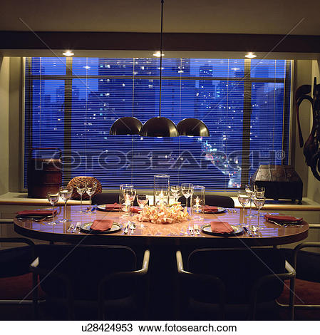 Stock Photo of lighting, interior, fixed, settings, blind, city.