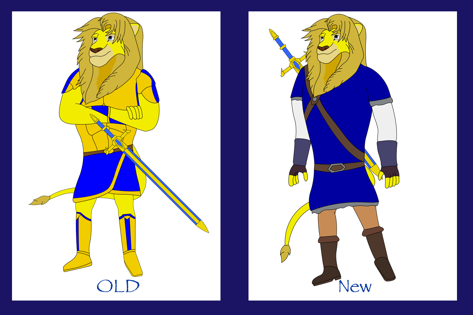 Murphy (Old Look vs New Look) *Fixed) by Fictioncreatorartist on.