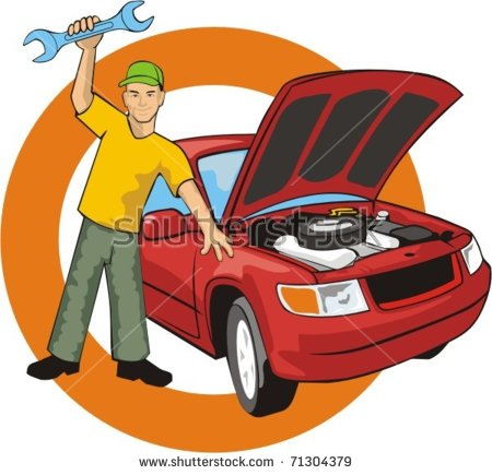 Oil Filter Motor Oil Change Stock Vector 40424002.