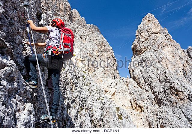 Climber Mountaineers Mountain Climber Physical Stock Photos.