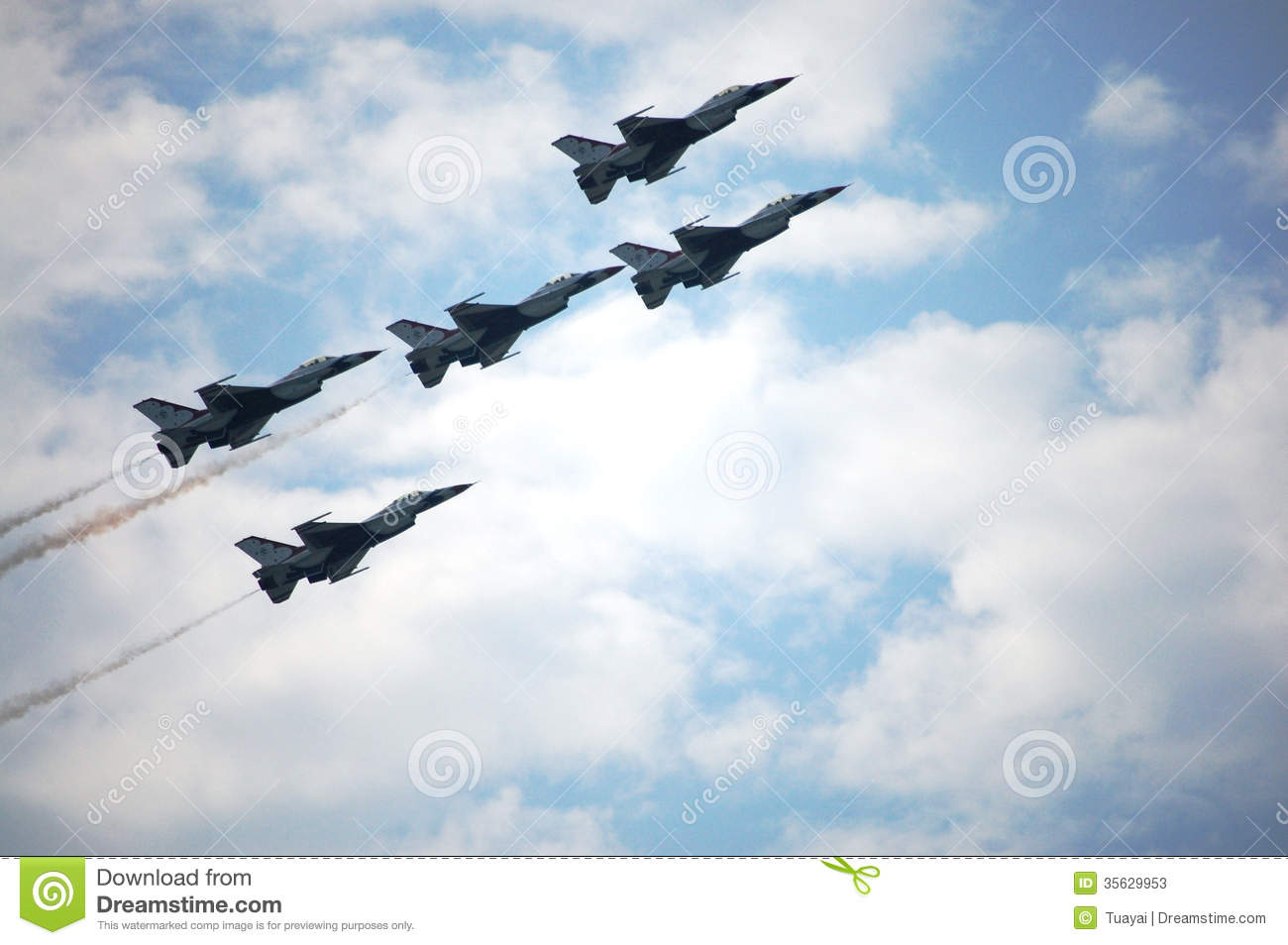 War Plane Show At Thailand Royalty Free Stock Photography.