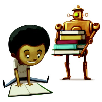 Fizz Boom Read Robot and Boy — Nevada Public Library.