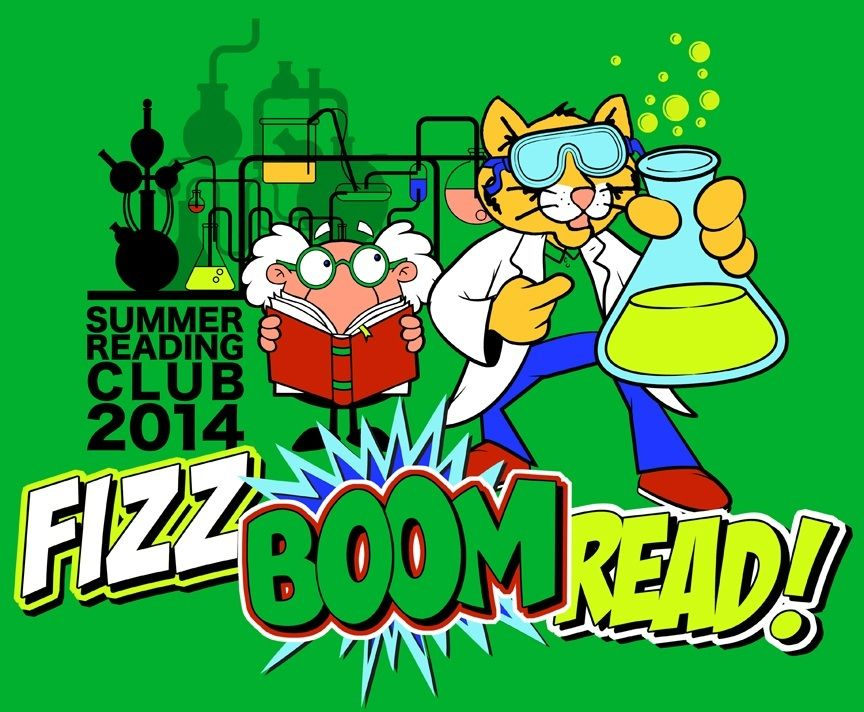 Summer Reading Club 2014, fizz, boom, read! Sneaks and a.
