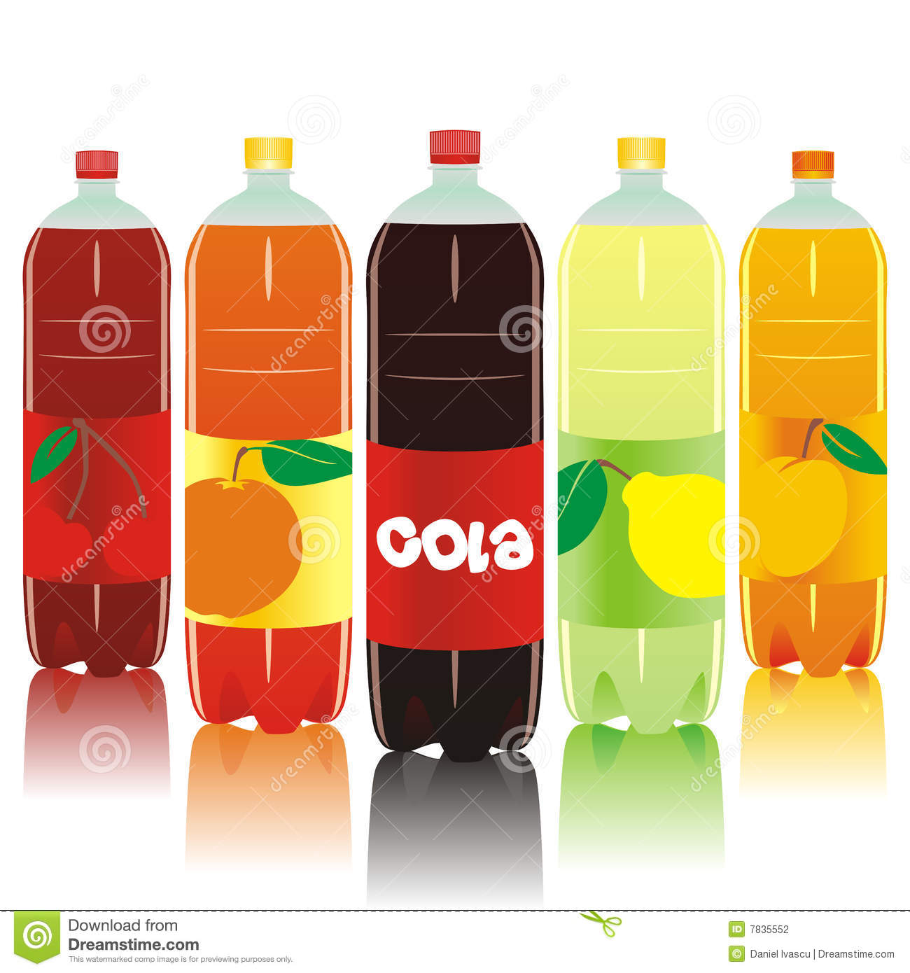 Fizzy drinks clipart.