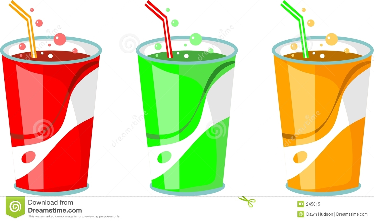 Fizzy Drink Clipart.