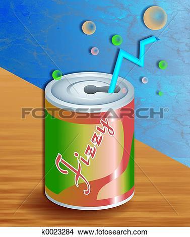 Drawings of Fizzy Soda k0023284.