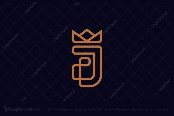 Exclusive Logo 160677, Luxuriuous Fj Monogram Logo.