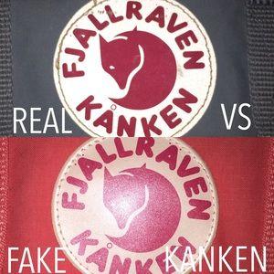 REAL VS FAKE FJALLRAVEN KANKENS.