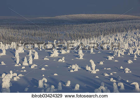 "Stock Photograph of ""Fjell in winter, with snow."
