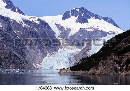 Pictures of View of Northwestern Glacier, Kenai Fjords National.