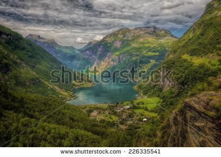 Fjords Stock Photos, Royalty.