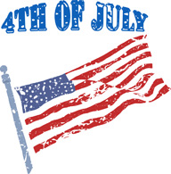 Free Fourth of July Clipart.