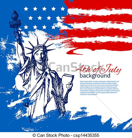 flag free 4th of july clipart and graphics.