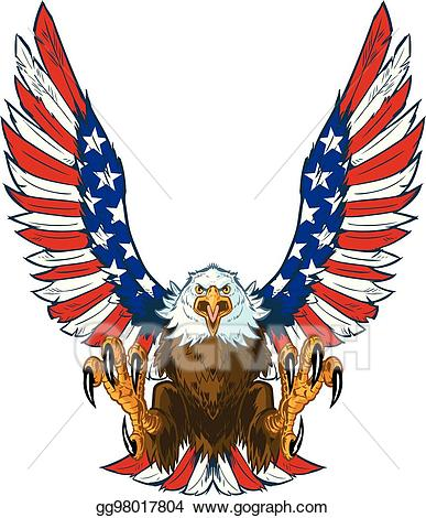 American flag eagle clipart 5 » Clipart Station.