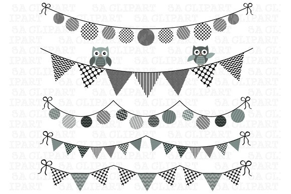 Free Flag Banner Clipart Black And White, Download Free Clip.