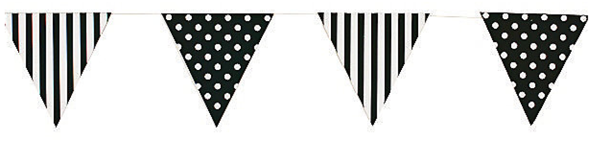 paper bunting,pennant flag,paper garland,birthday decorations.