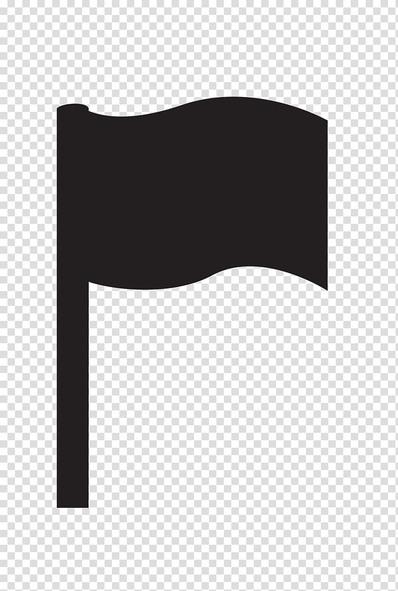 Black and white Flag, black flag pattern transparent.
