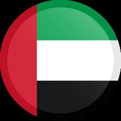 The United Arab Emirates flag clipart.