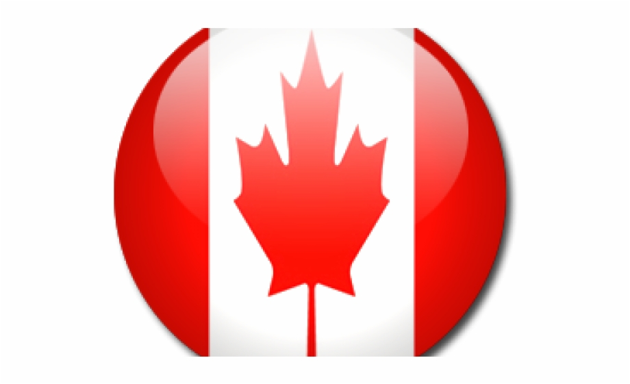 Canada Flag Button Png Free PNG Images & Clipart Download #1147997.
