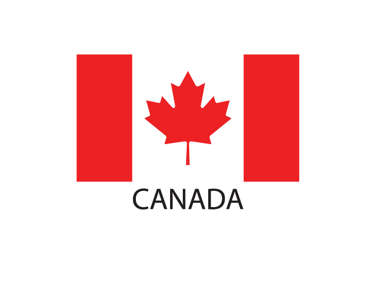 Flag of Canada PNG Image.