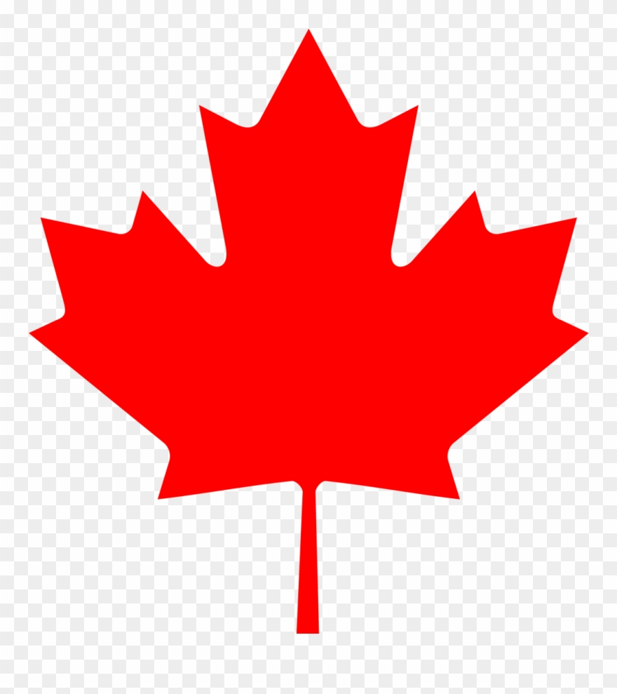 Free Vector Flag Of Canada Leaf Clip Art.