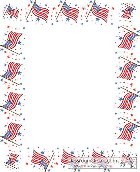 Flag Border Clipart.