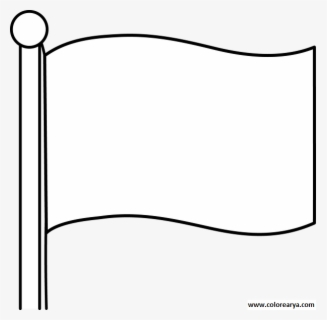 Free White Flag Clip Art with No Background.