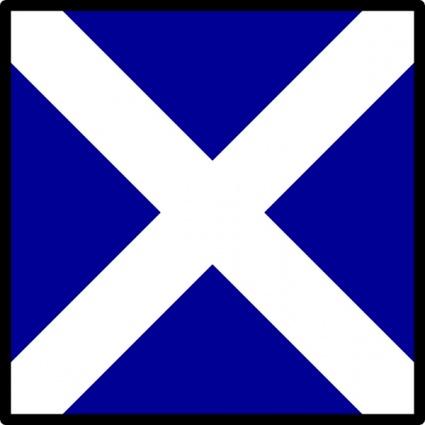 Nautical Flag Clipart.