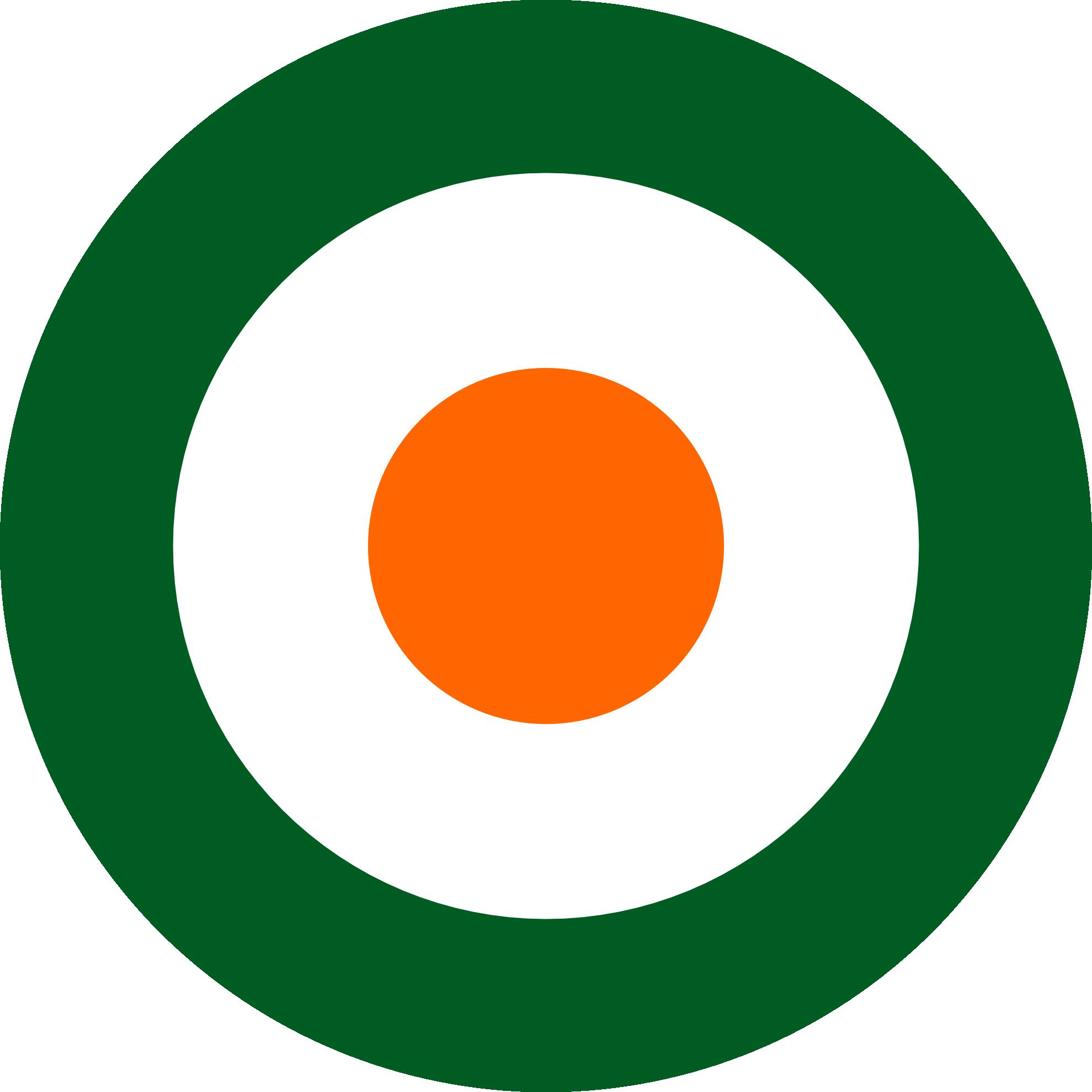 clipartist.net » Clip Art » irish air corps roundel flag saint.