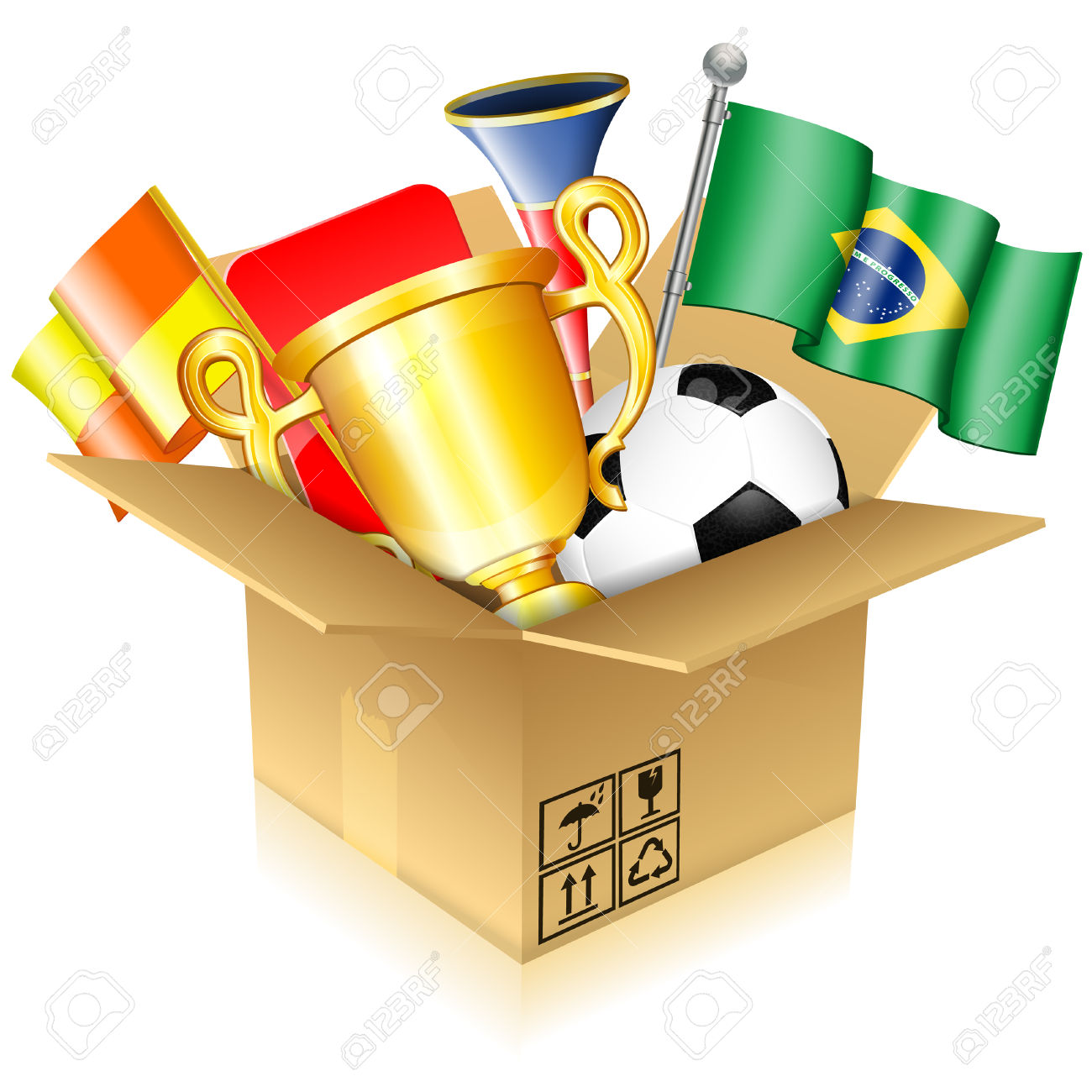 Soccer Concept.