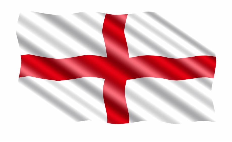 England, International, Flag, England.