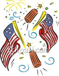 Flag Fireworks Clipart (62+).