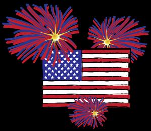 Similiar Flag And Fireworks Clip Art Keywords.