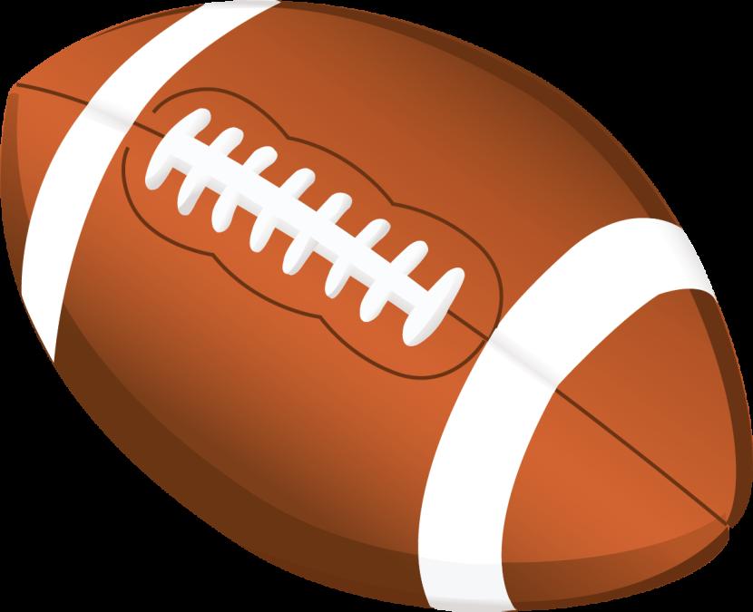 Flag Football Clipart.
