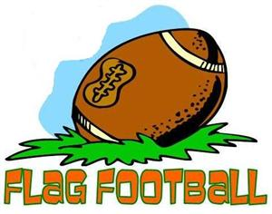 Flag football clipart 6.