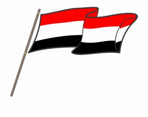 Yemen, Flag, Graphics, National Colors, The Mast.