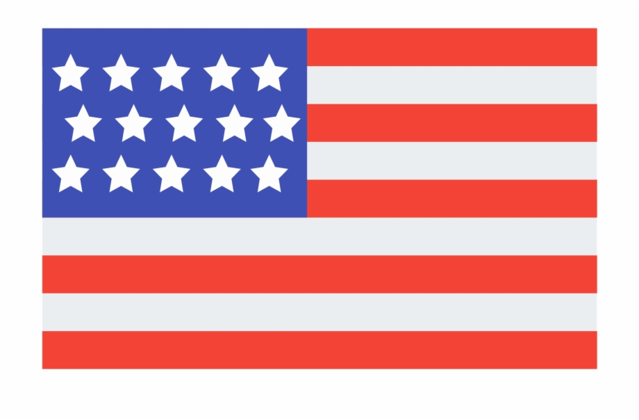 Usa Png Clipart Transparent American Flag Icon.