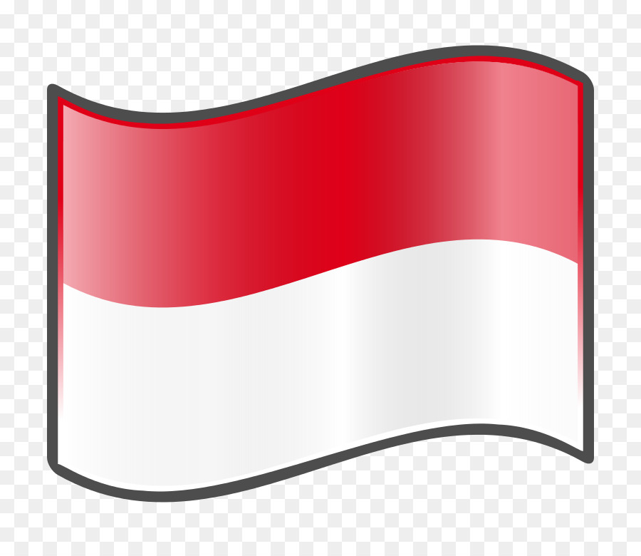 Indonesian Flag clipart.