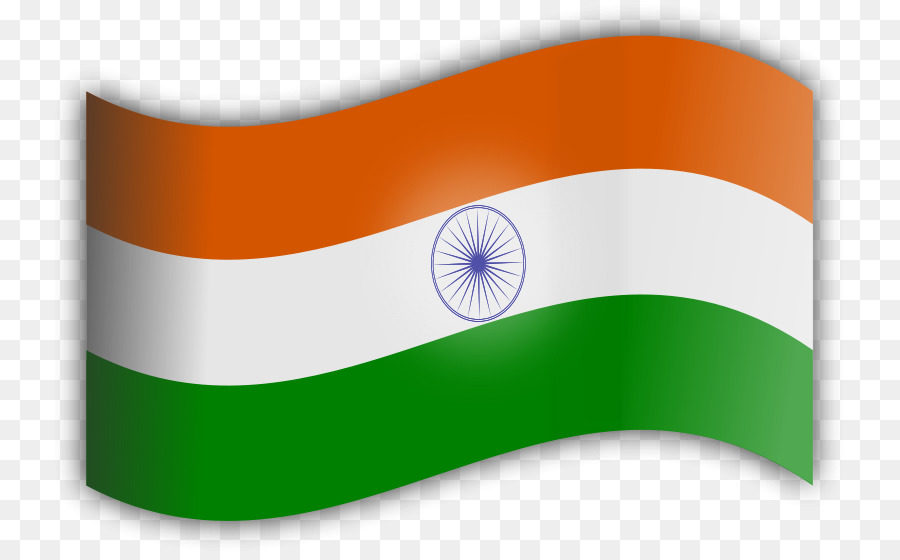 India Flag Green clipart.
