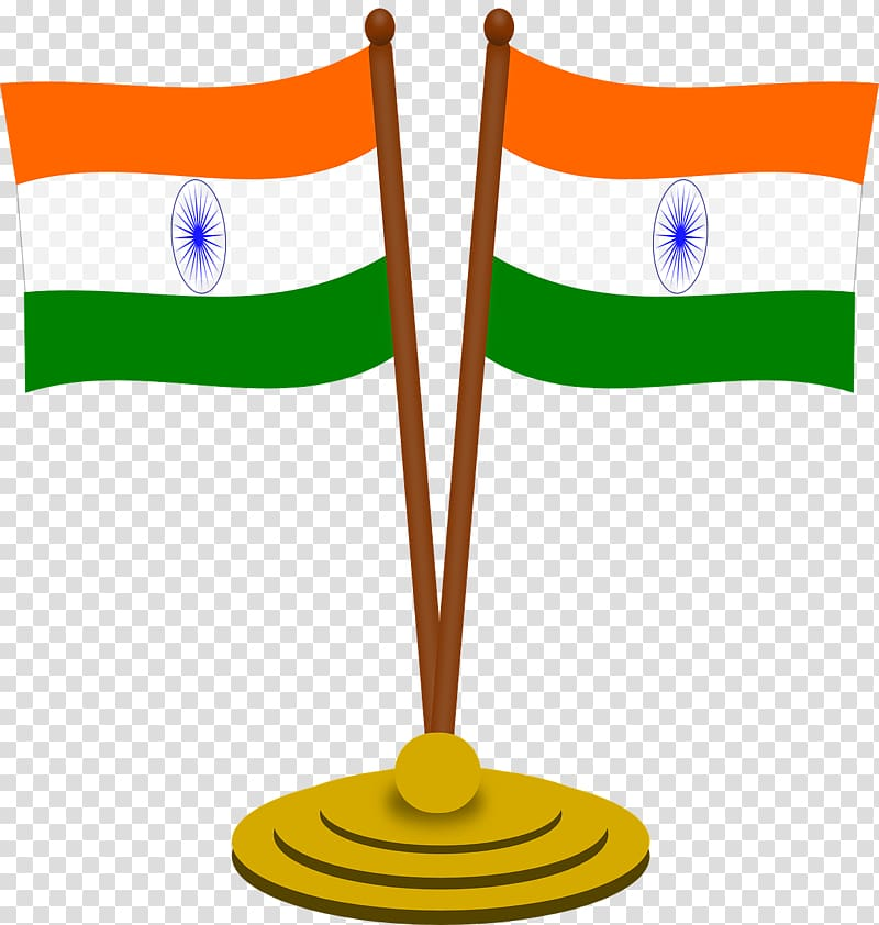 Two India flags illustration, Flag of India Indian.