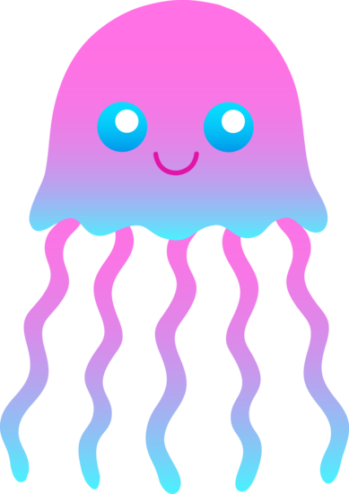 clipart jellyfish.