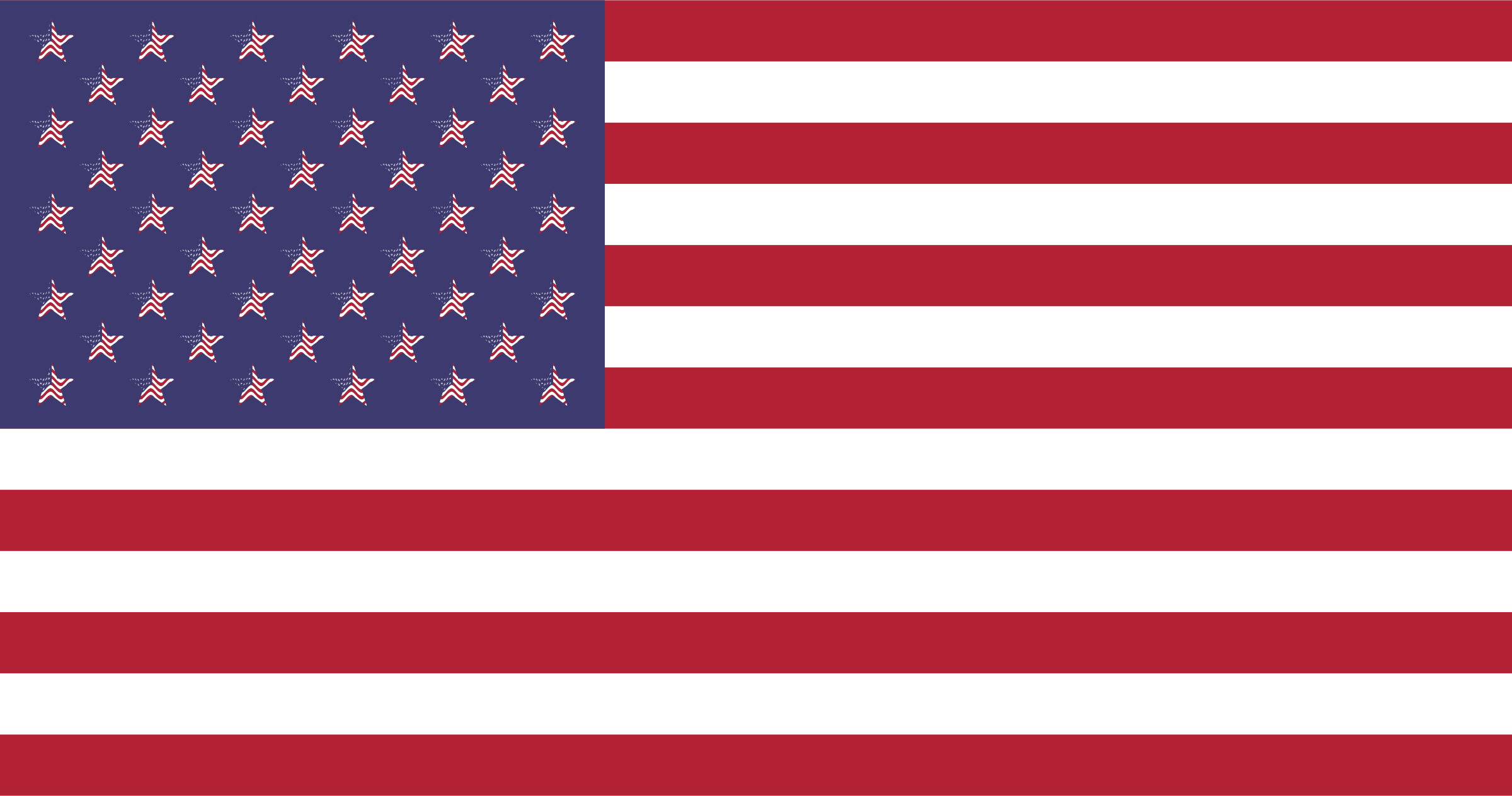 Clipart American Flag.
