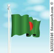 Flag bangladesh Clip Art Royalty Free. 553 flag bangladesh clipart.