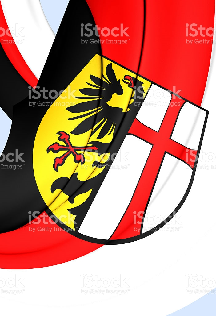 Flag Of Memmingen City Germany stock vector art 484938534.