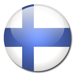 Button Flag Finland Icon, PNG ClipArt Image.