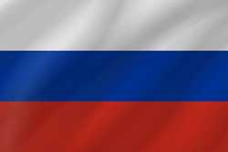 Russia flag clipart.