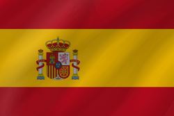 Spain flag clipart.