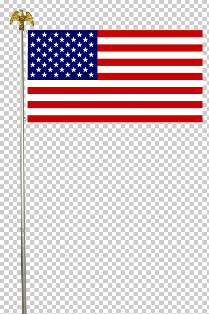 Flag Of The United States American Civil War Flagpole PNG.