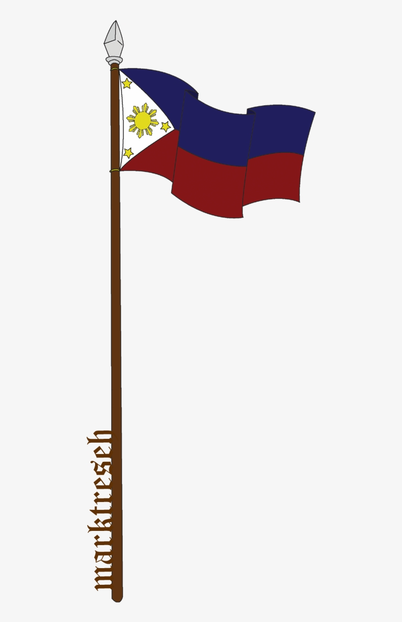 Graphic Transparent Library Flag Pole Clipart.